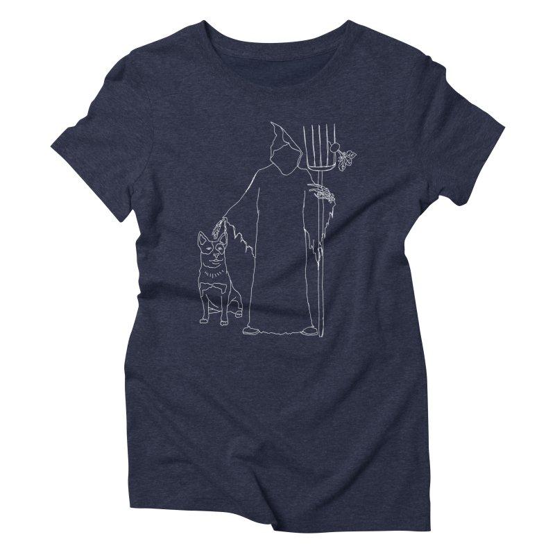 Grim the Farmer and Bestie Women's T-Shirt by jackrabbithollow's Artist Shop