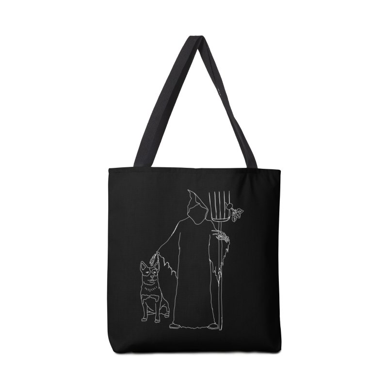 Grim the Farmer and Bestie Accessories Tote Bag Bag by jackrabbithollow's Artist Shop