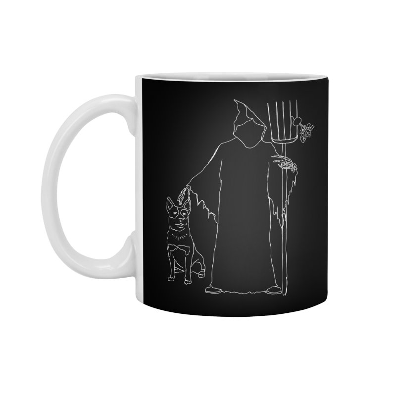 Grim the Farmer and Bestie Accessories Mug by jackrabbithollow's Artist Shop
