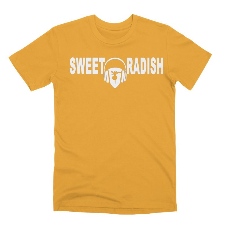 Sweet Radish Headphones Logo Men's Premium T-Shirt by jackrabbithollow's Artist Shop