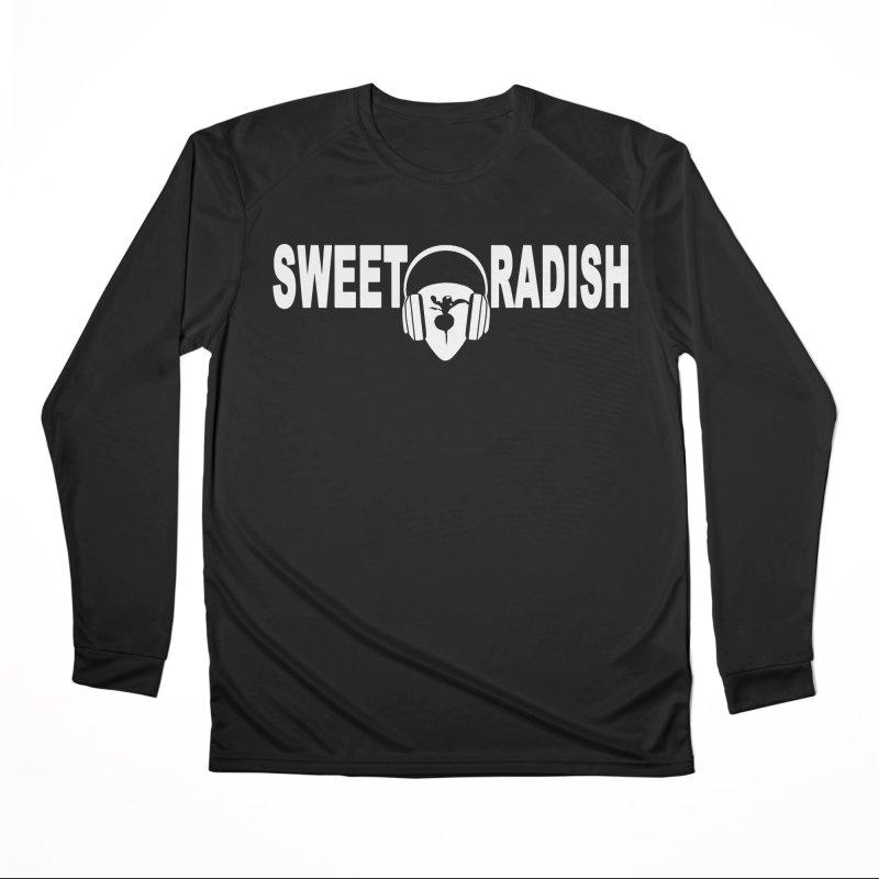 Sweet Radish Headphones Logo Women's Performance Unisex Longsleeve T-Shirt by jackrabbithollow's Artist Shop