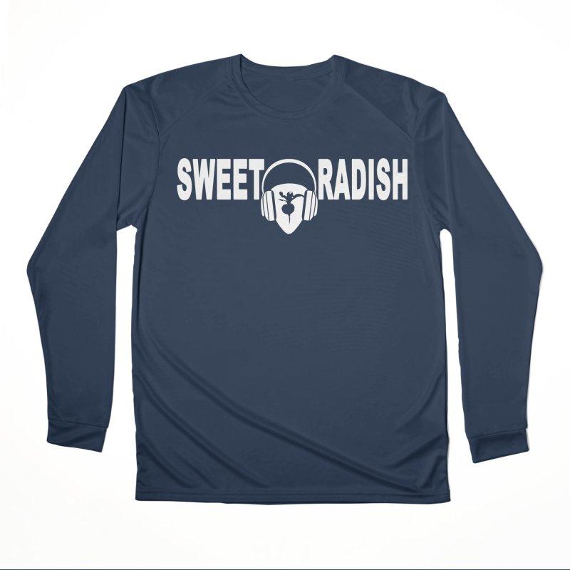 Sweet Radish Headphones Logo Men's Performance Longsleeve T-Shirt by jackrabbithollow's Artist Shop