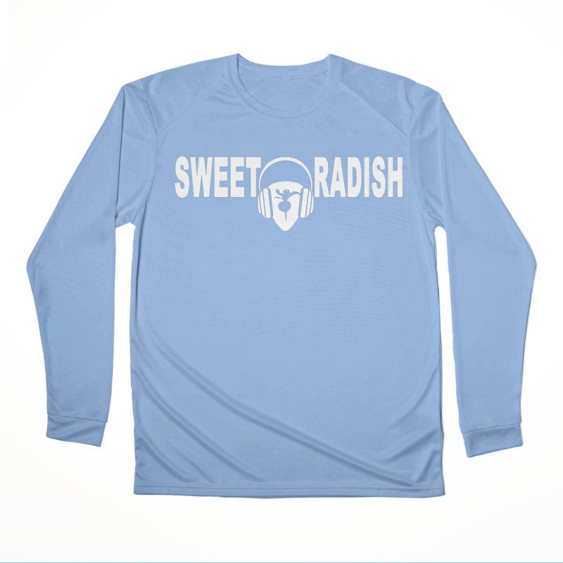 Sweet Radish Headphones Logo Women's Longsleeve T-Shirt by jackrabbithollow's Artist Shop