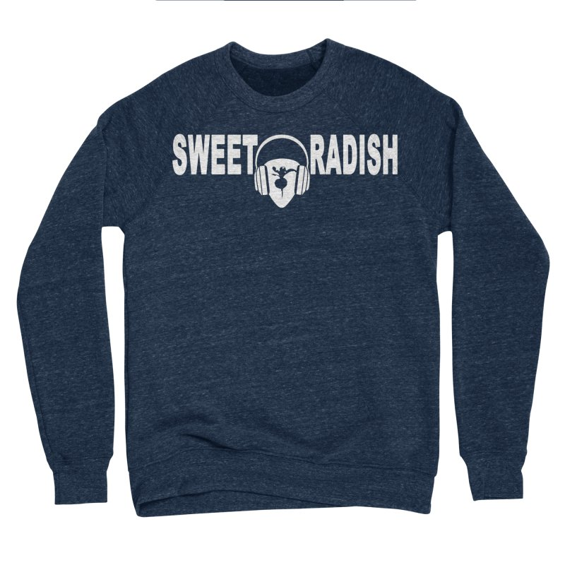 Sweet Radish Headphones Logo Men's Sponge Fleece Sweatshirt by jackrabbithollow's Artist Shop