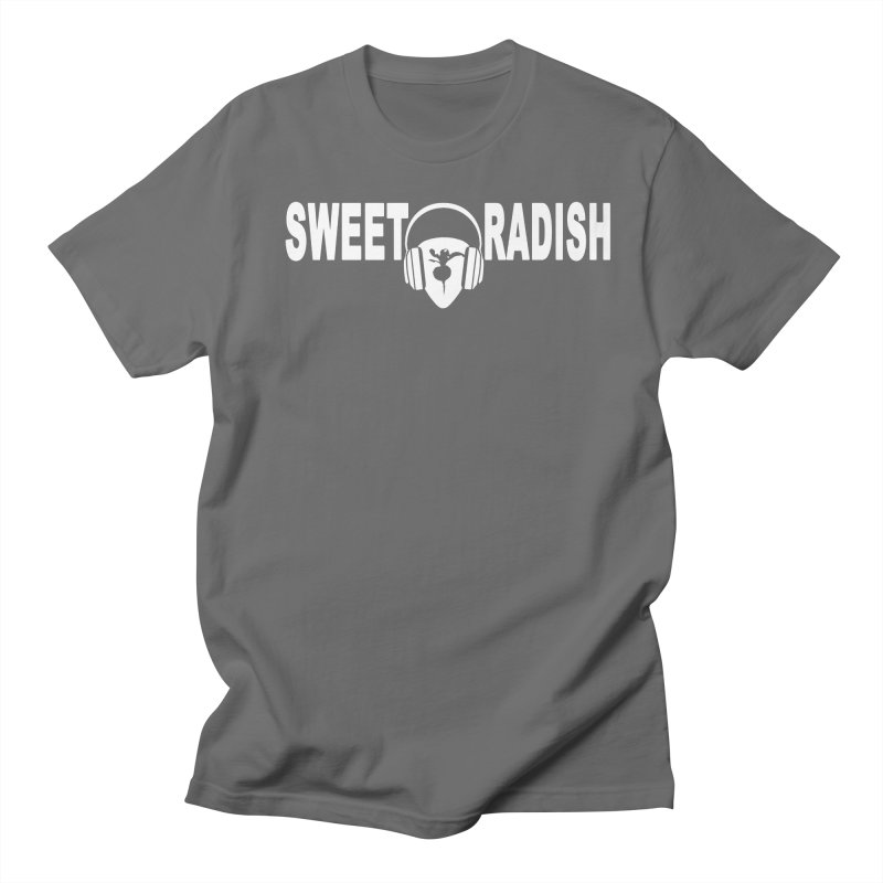 Sweet Radish Headphones Logo Men's T-Shirt by jackrabbithollow's Artist Shop
