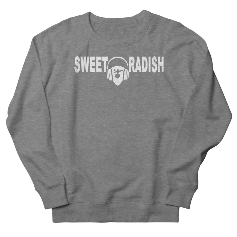 Sweet Radish Headphones Logo Women's French Terry Sweatshirt by jackrabbithollow's Artist Shop