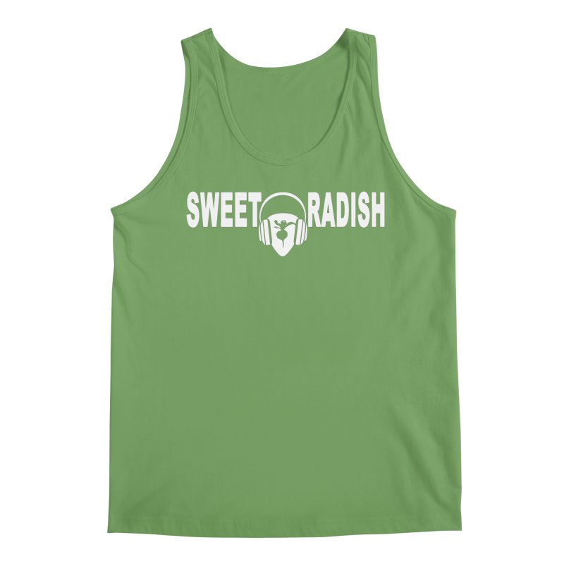Sweet Radish Headphones Logo Men's Tank by jackrabbithollow's Artist Shop