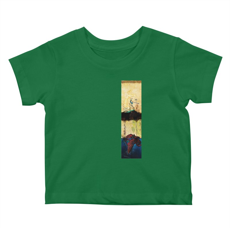 Ballads and Heartstrings - Sweet Radish Logo Design Kids Baby T-Shirt by jackrabbithollow's Artist Shop