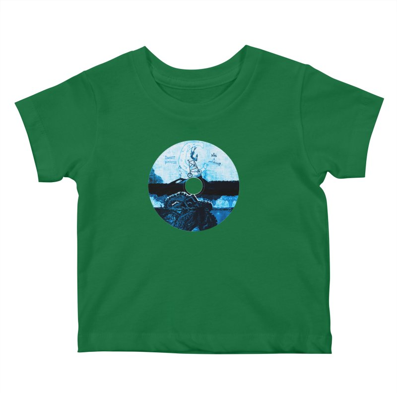 Ballads and Heartstrings Album Design Kids Baby T-Shirt by jackrabbithollow's Artist Shop