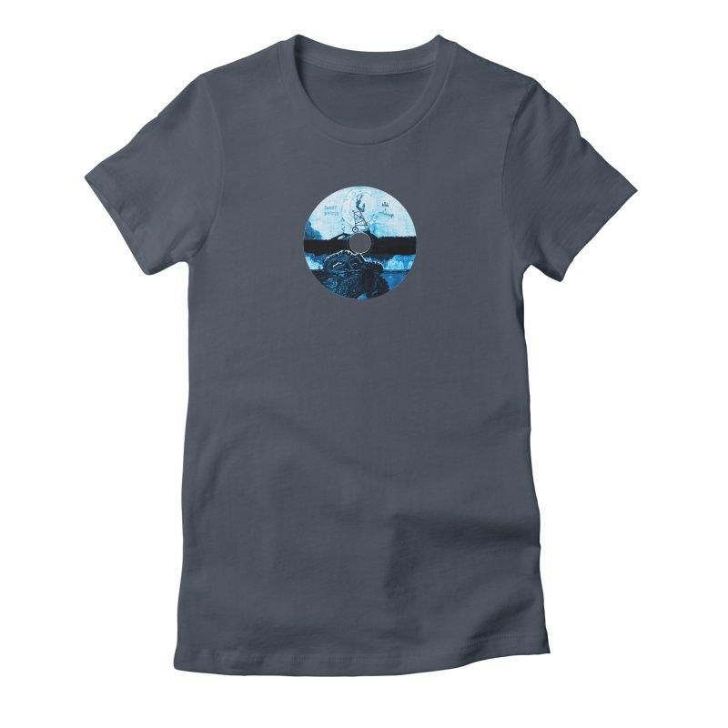 Ballads and Heartstrings Album Design Women's T-Shirt by jackrabbithollow's Artist Shop