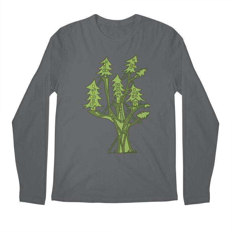 Interconnected Men's Longsleeve T-Shirt by jackrabbithollow's Artist Shop