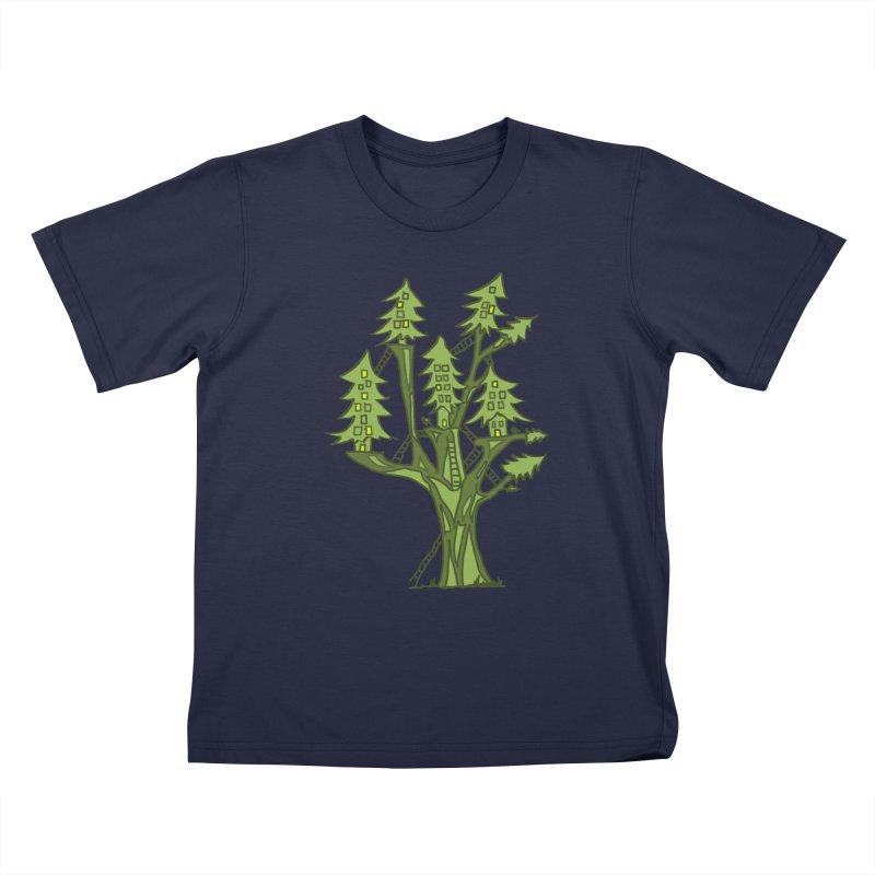 Interconnected Kids T-Shirt by jackrabbithollow's Artist Shop