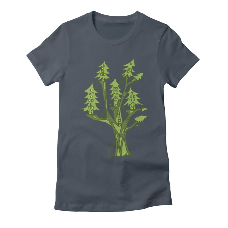 Interconnected Women's T-Shirt by jackrabbithollow's Artist Shop