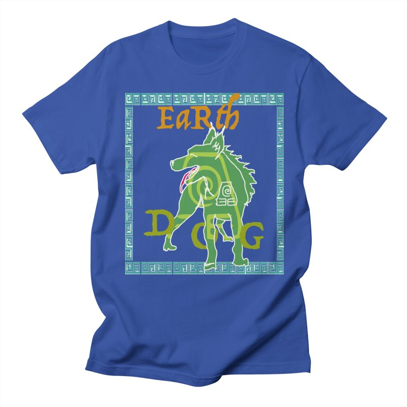 YEAR of the EARTH DOG Men's T-Shirt by jackrabbithollow's Artist Shop