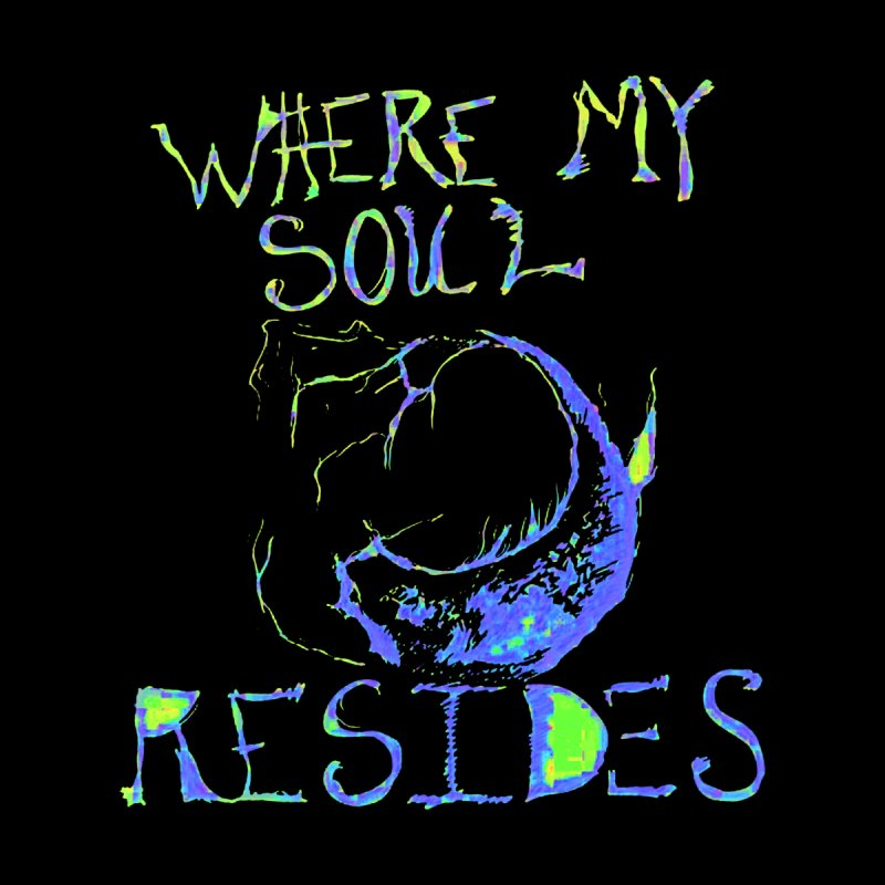 Where My Soul Resides Men's V-Neck by jackrabbithollow's Artist Shop