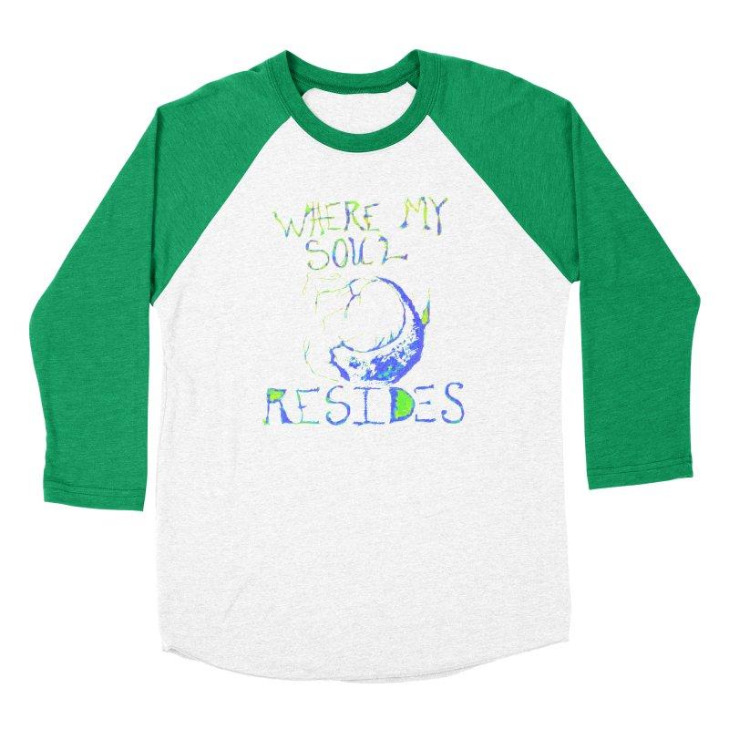 Where My Soul Resides Women's Baseball Triblend Longsleeve T-Shirt by jackrabbithollow's Artist Shop