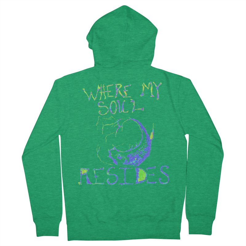 Where My Soul Resides Men's Zip-Up Hoody by jackrabbithollow's Artist Shop