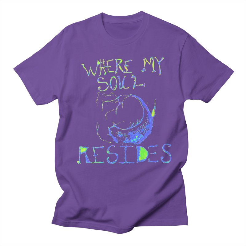 Where My Soul Resides Men's T-Shirt by jackrabbithollow's Artist Shop