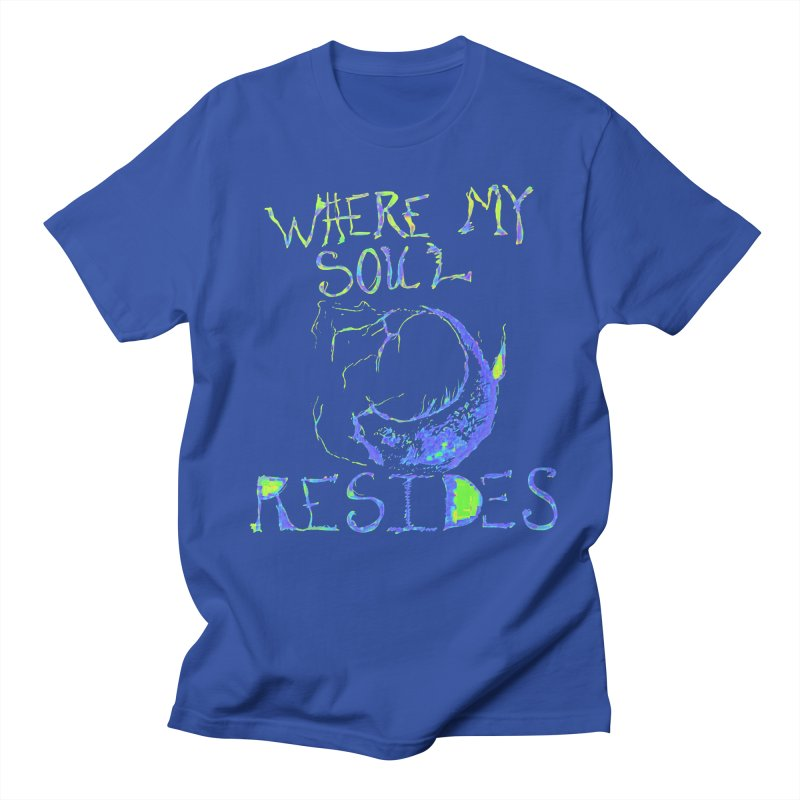 Where My Soul Resides Men's T-Shirt by jackrabbithollow's Artist Shop
