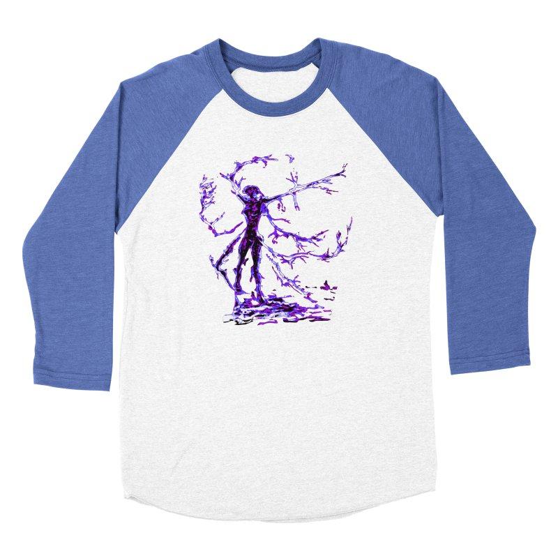 Blowing in the Wind Women's Baseball Triblend Longsleeve T-Shirt by jackrabbithollow's Artist Shop