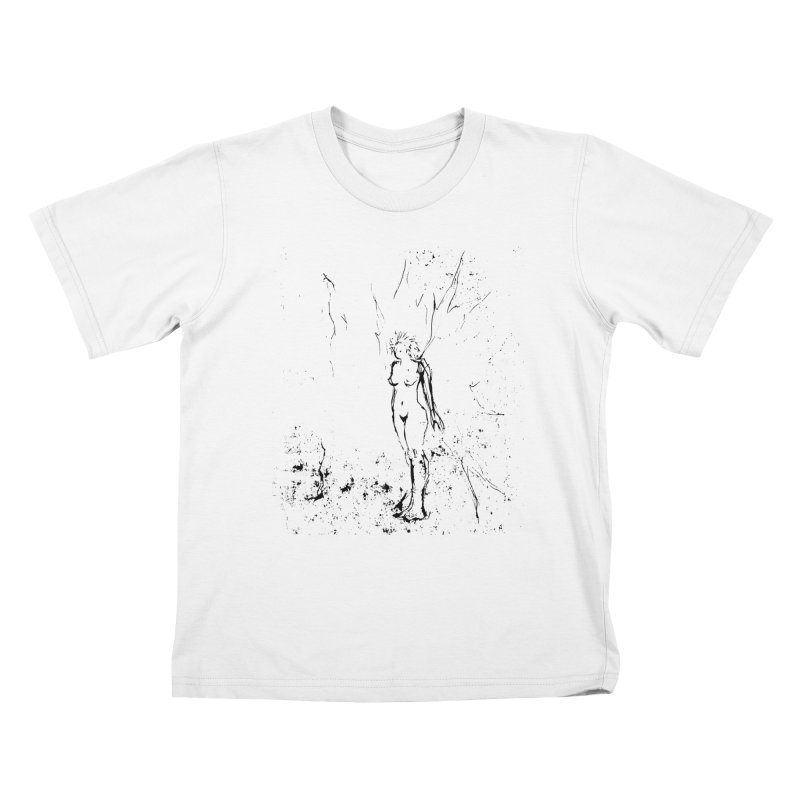 Fairy Wisp Kids T-Shirt by jackrabbithollow's Artist Shop