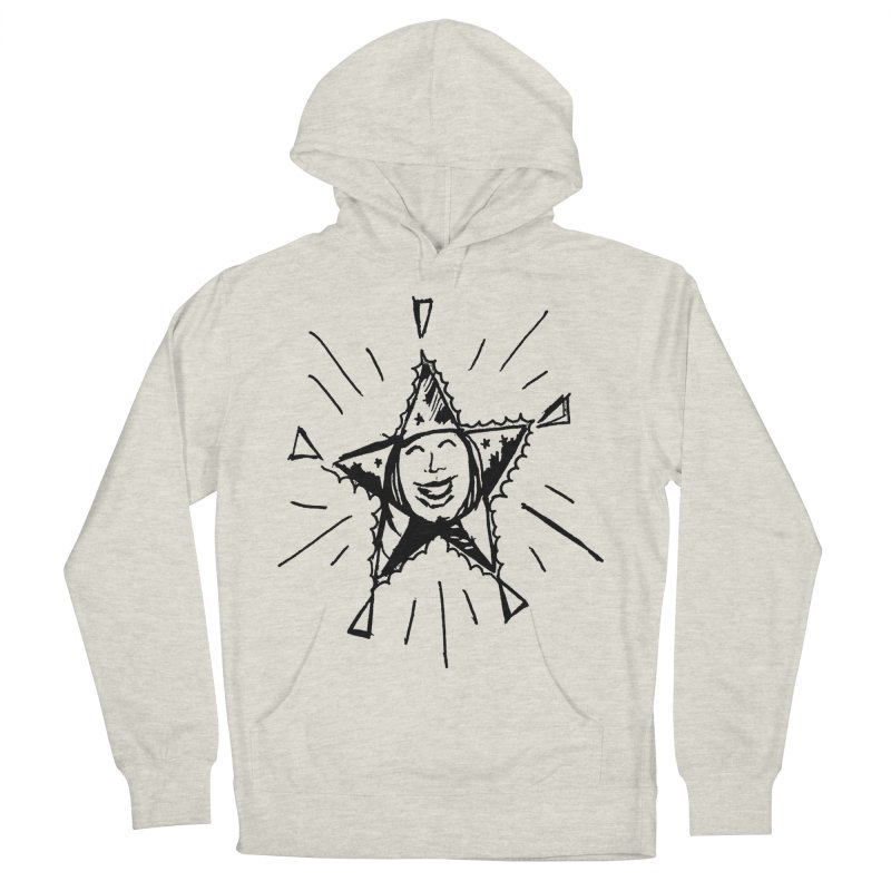Star Shine Men's French Terry Pullover Hoody by jackrabbithollow's Artist Shop