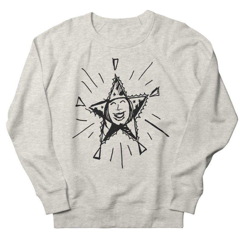 Star Shine Men's French Terry Sweatshirt by jackrabbithollow's Artist Shop