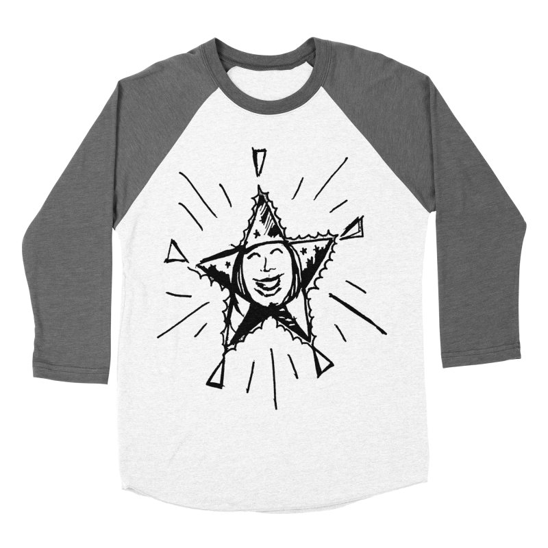 Star Shine Women's Baseball Triblend Longsleeve T-Shirt by jackrabbithollow's Artist Shop