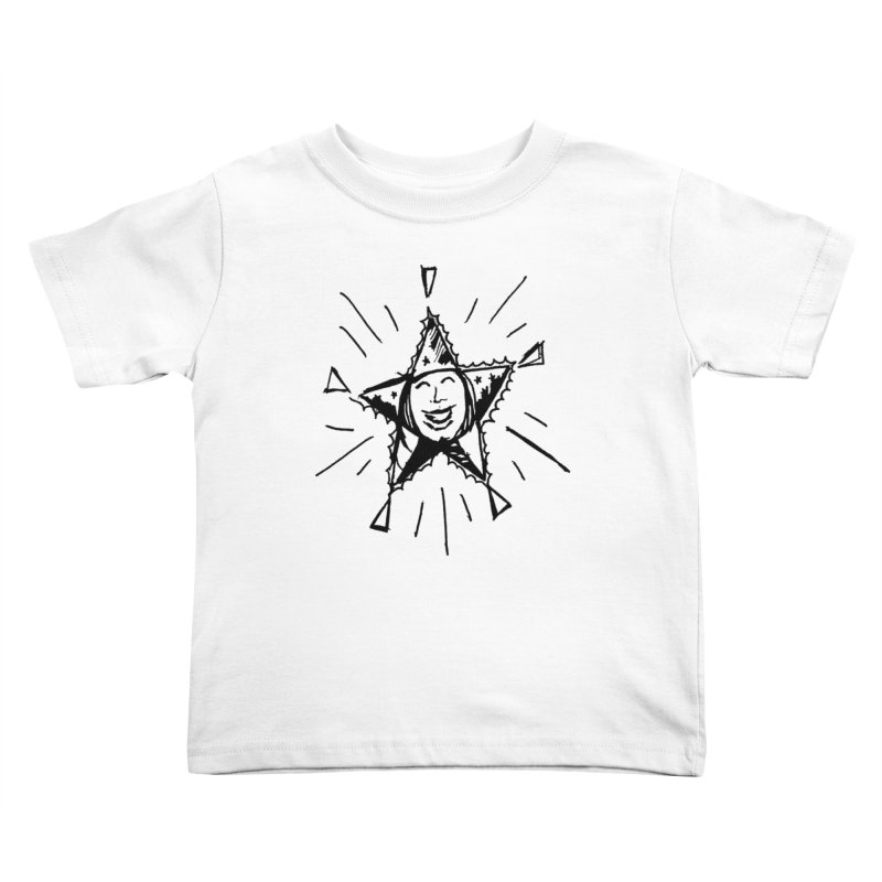 Star Shine Kids Toddler T-Shirt by jackrabbithollow's Artist Shop