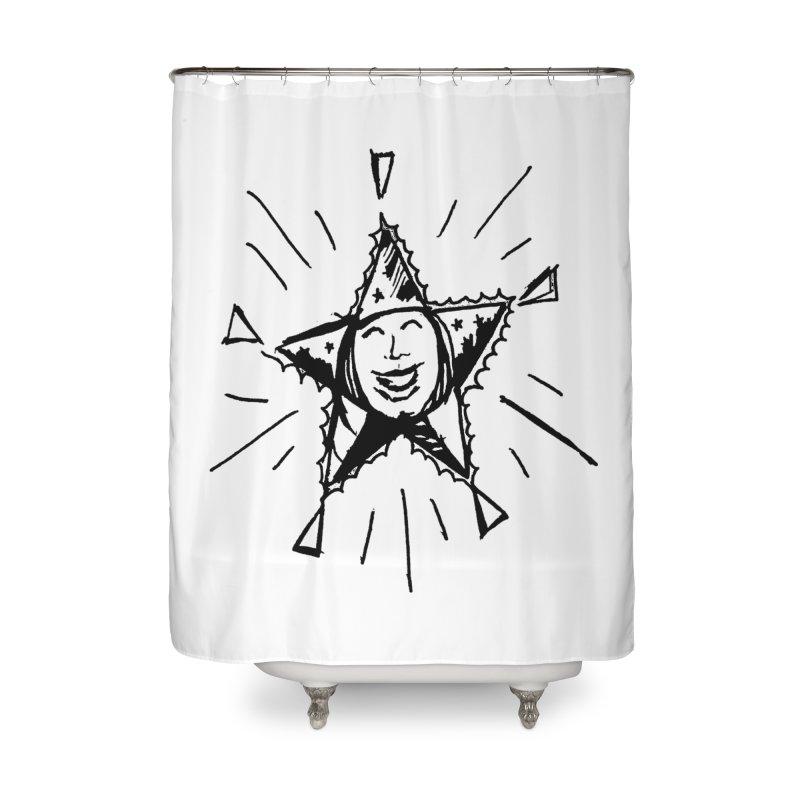 Star Shine Home Shower Curtain by jackrabbithollow's Artist Shop