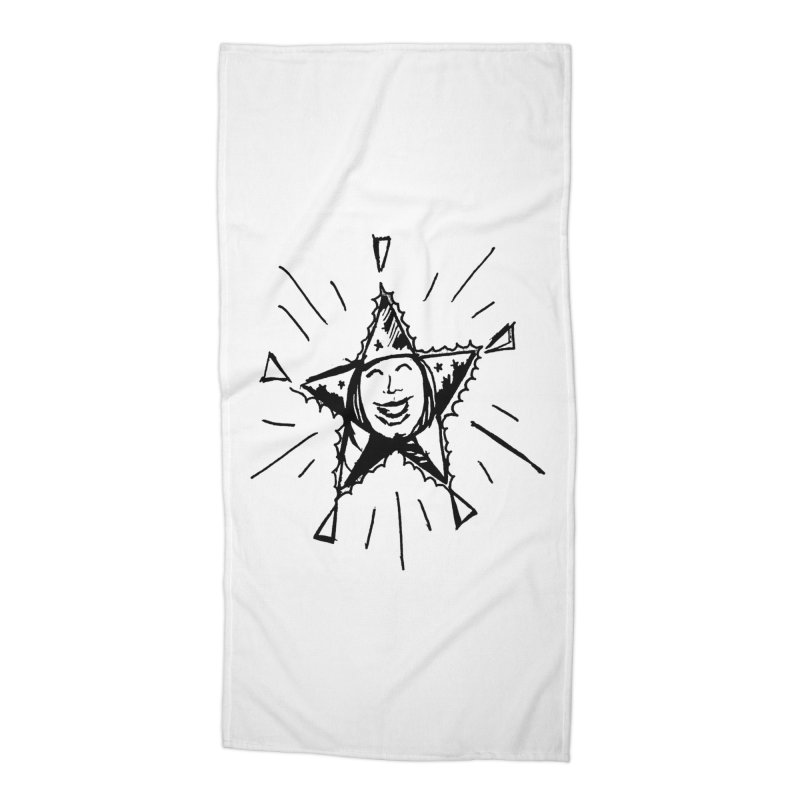 Star Shine Accessories Beach Towel by jackrabbithollow's Artist Shop