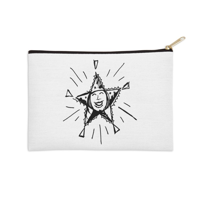 Star Shine Accessories Zip Pouch by jackrabbithollow's Artist Shop
