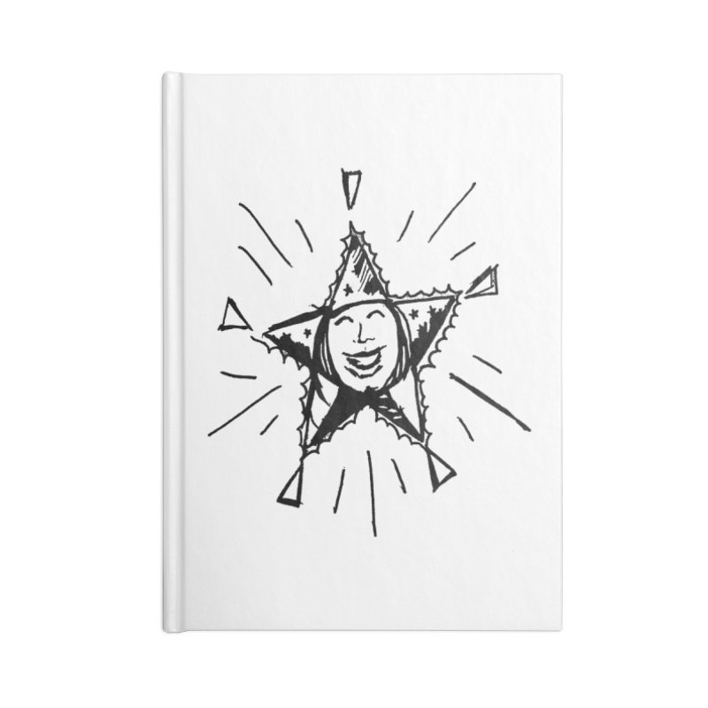 Star Shine Accessories Lined Journal Notebook by jackrabbithollow's Artist Shop