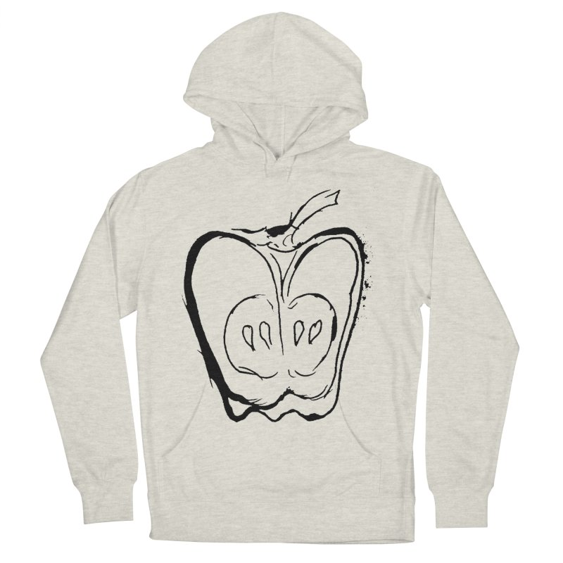 Big Apple Men's French Terry Pullover Hoody by jackrabbithollow's Artist Shop