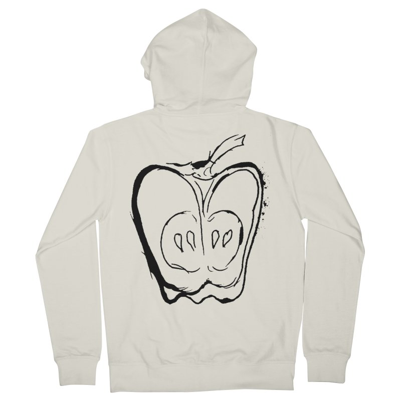 Big Apple Women's French Terry Zip-Up Hoody by jackrabbithollow's Artist Shop