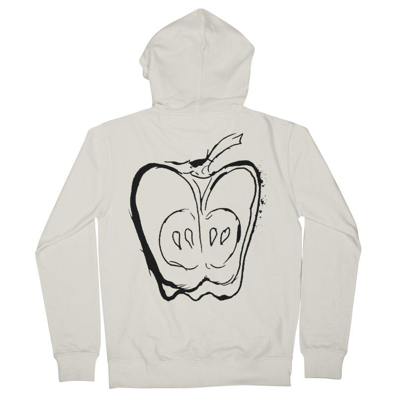 Big Apple Men's French Terry Zip-Up Hoody by jackrabbithollow's Artist Shop