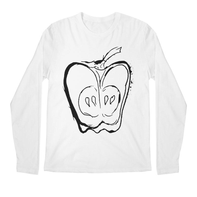 Big Apple Men's Regular Longsleeve T-Shirt by jackrabbithollow's Artist Shop