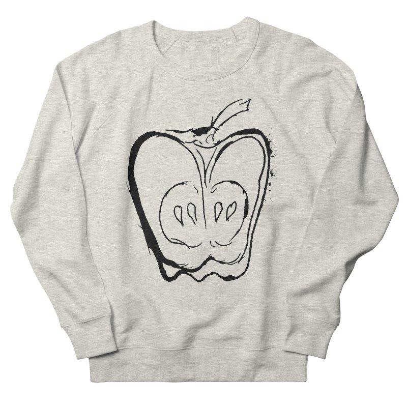 Big Apple Men's French Terry Sweatshirt by jackrabbithollow's Artist Shop