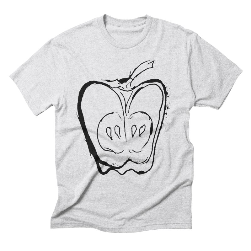Big Apple Men's Triblend T-Shirt by jackrabbithollow's Artist Shop
