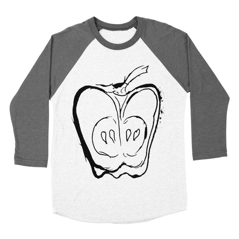 Big Apple Men's Baseball Triblend Longsleeve T-Shirt by jackrabbithollow's Artist Shop