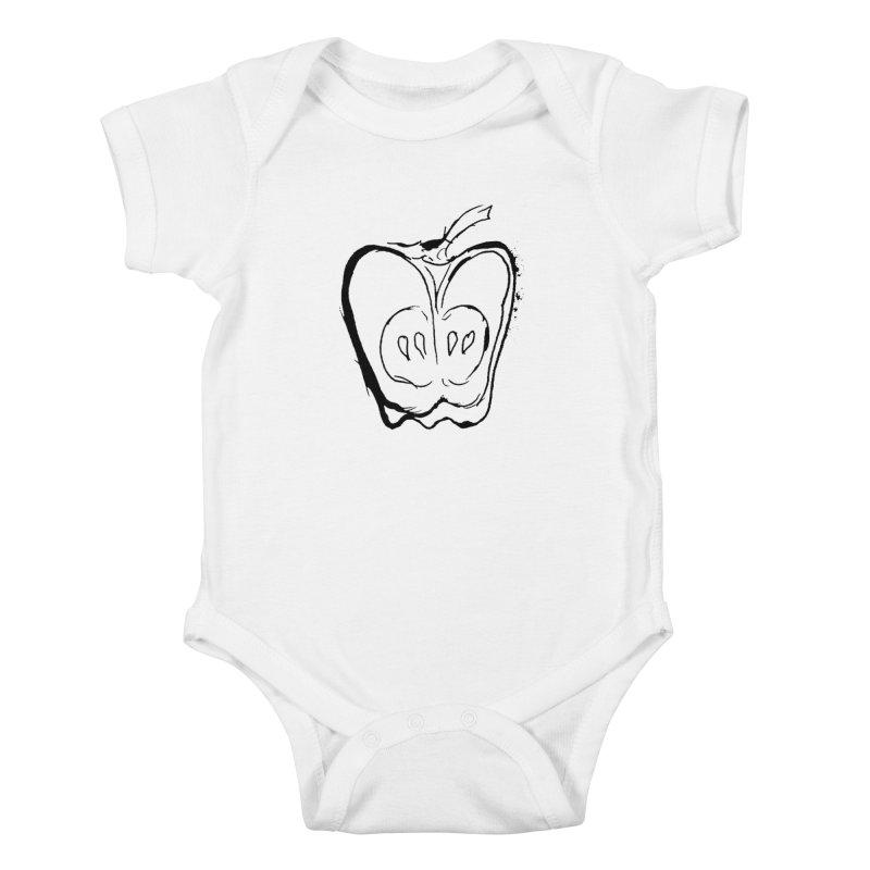 Big Apple Kids Baby Bodysuit by jackrabbithollow's Artist Shop