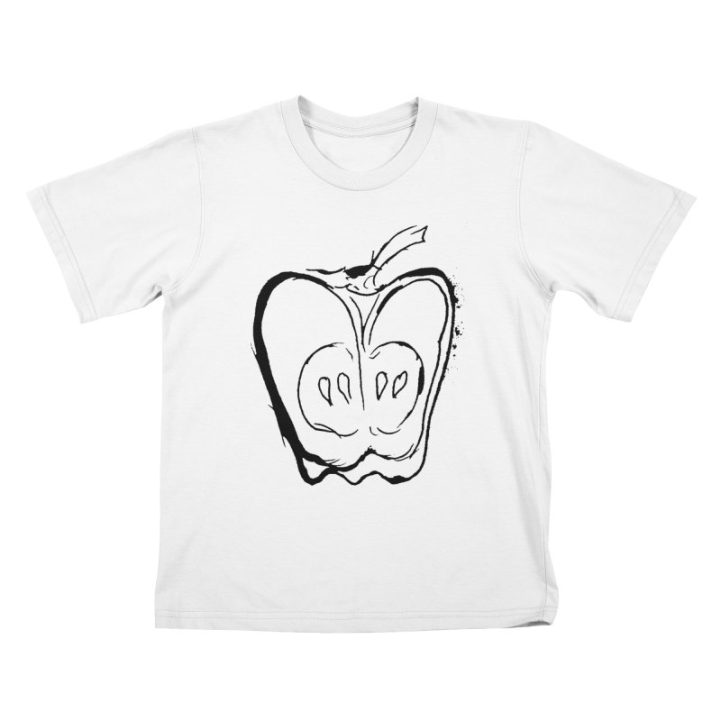 Big Apple Kids T-Shirt by jackrabbithollow's Artist Shop
