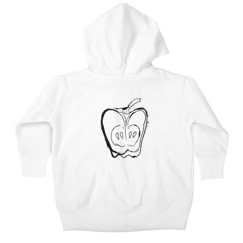 Big Apple Kids Baby Zip-Up Hoody by jackrabbithollow's Artist Shop