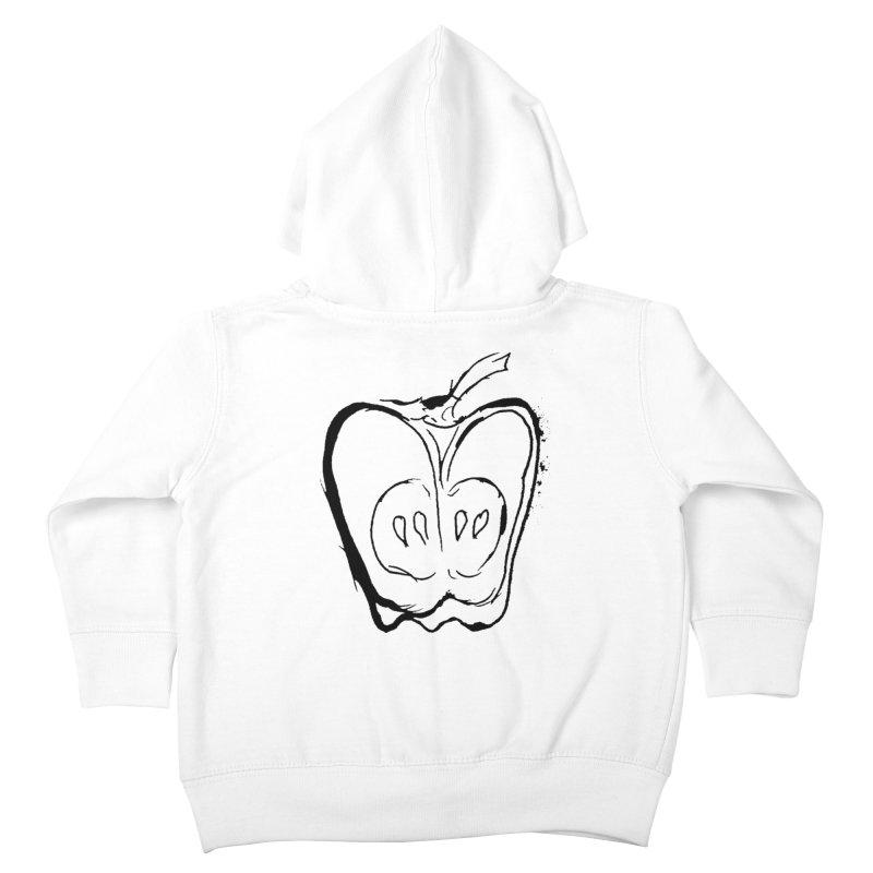 Big Apple Kids Toddler Zip-Up Hoody by jackrabbithollow's Artist Shop