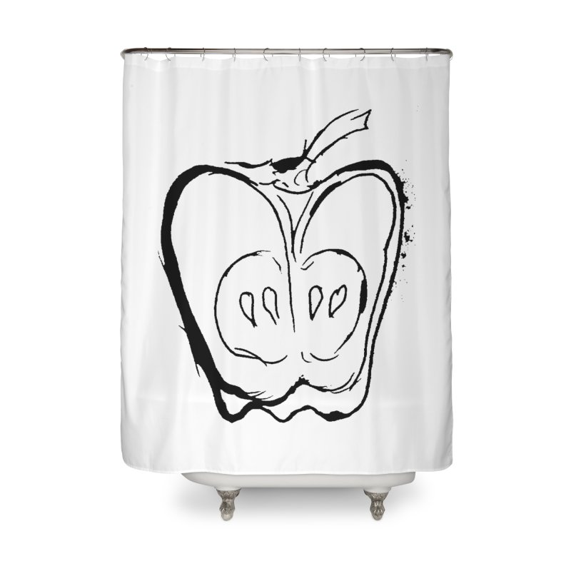 Big Apple Home Shower Curtain by jackrabbithollow's Artist Shop