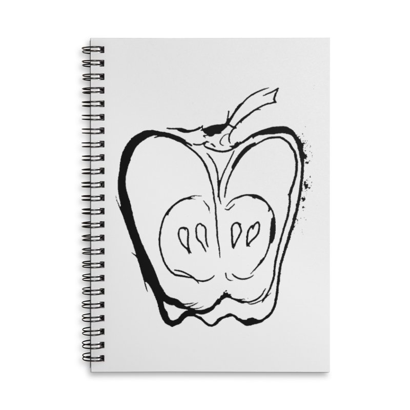 Big Apple Accessories Lined Spiral Notebook by jackrabbithollow's Artist Shop