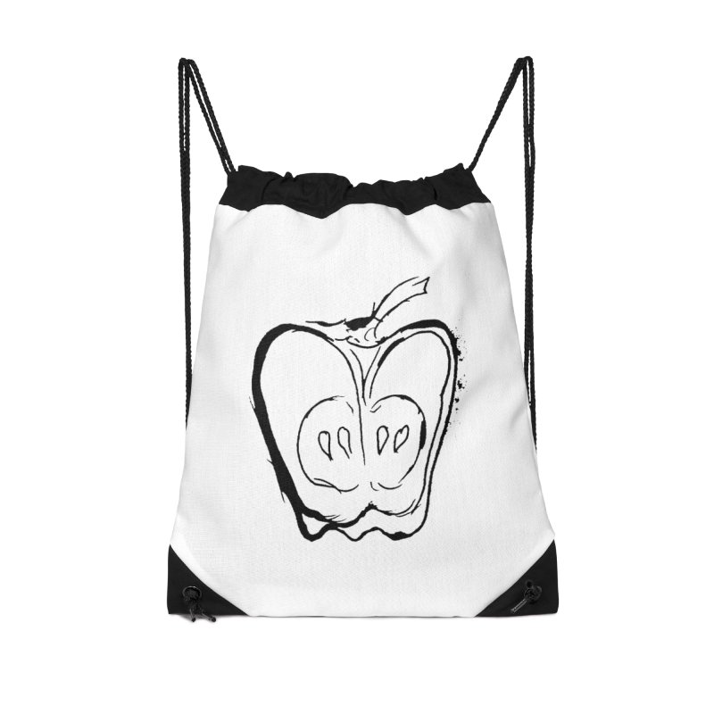 Big Apple Accessories Drawstring Bag Bag by jackrabbithollow's Artist Shop