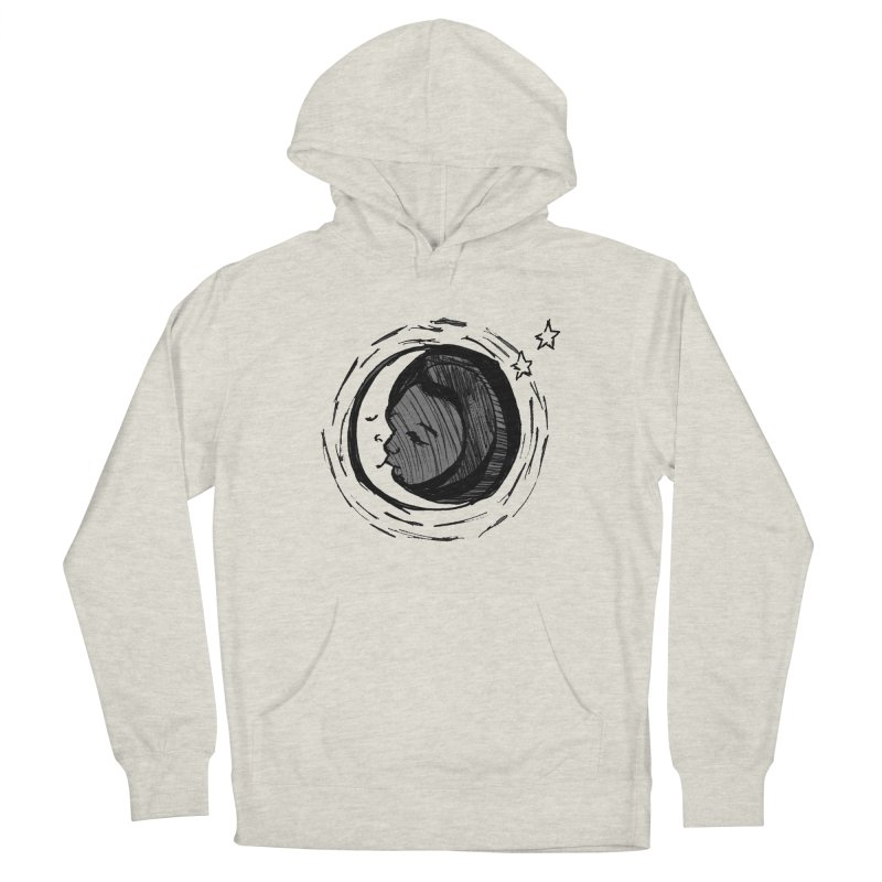 Dark Side of the Moon Men's Pullover Hoody by jackrabbithollow's Artist Shop