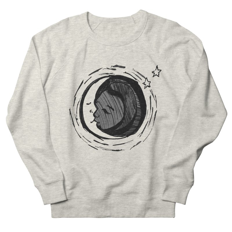 Dark Side of the Moon Men's French Terry Sweatshirt by jackrabbithollow's Artist Shop