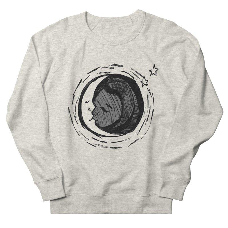 Dark Side of the Moon Men's Sweatshirt by jackrabbithollow's Artist Shop